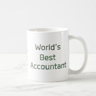 Der beste Buchhalter der Welt mit Dollar-Zeichen Kaffeetasse