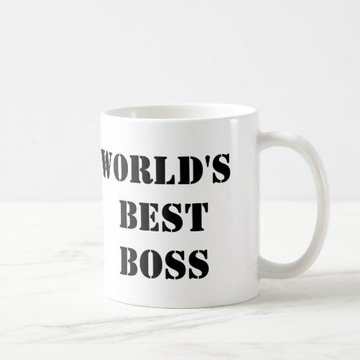 Der beste Chef der Büro-Welt Teetasse