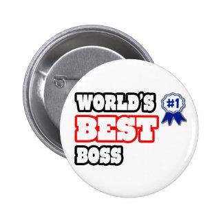 Der beste Chef der Welt Buttons