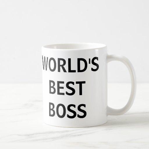 Der BESTE CHEF der WELT - die Büro-Tasse