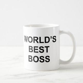 Der beste Chef der Welt Kaffeetasse