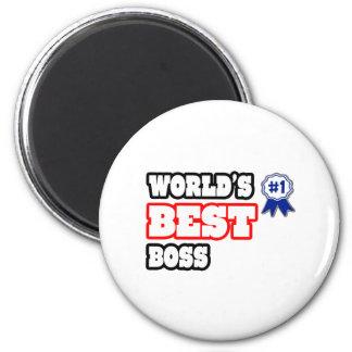 Der beste Chef der Welt Magnete