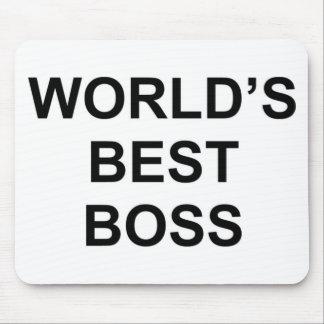 Der beste Chef der Welt Mousepad