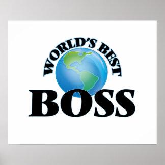 Der beste Chef der Welt Posterdruck