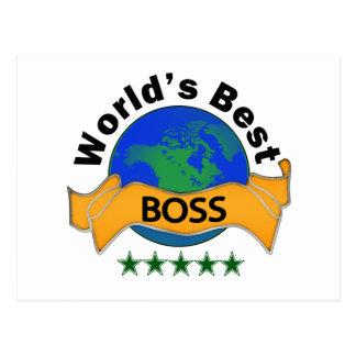 Der beste Chef der Welt Postkarten