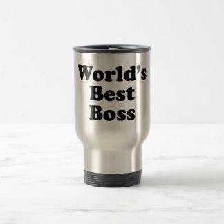 Der beste Chef der Welt Reisebecher