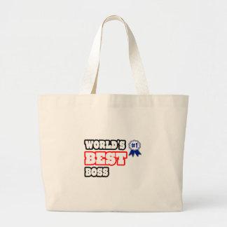 Der beste Chef der Welt Einkaufstasche