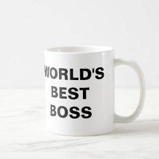 Der beste Chef der Welt Teetassen