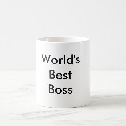 Der beste Chef der Welt Kaffeetassen
