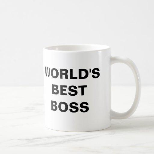Der beste Chef der Welt Tassen