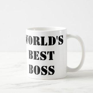 Der beste Chef der Welt Teetasse