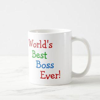 Der beste Chef der Welt überhaupt Tasse