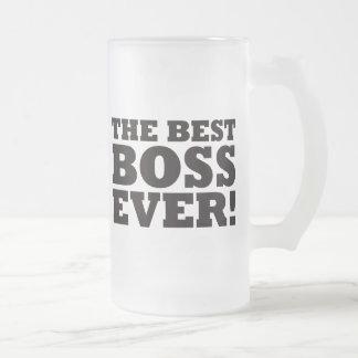 Der beste Chef überhaupt Matte Glastasse