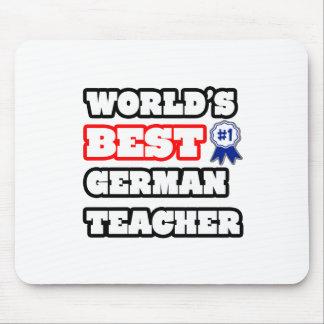 Der beste deutsche Lehrer der Welt Mauspad