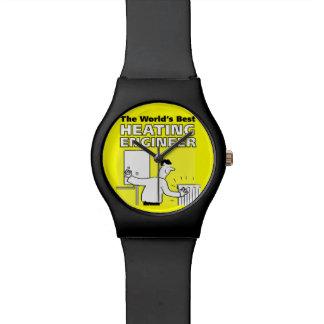 Der beste die Heizungs-Ingenieur der Welt Uhr