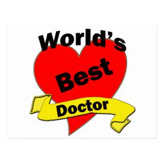 Der beste Doktor der Welt Postkarte