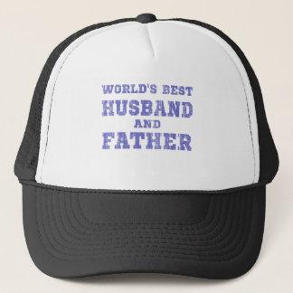 Der beste Ehemann der Welt (blau) Truckerkappe