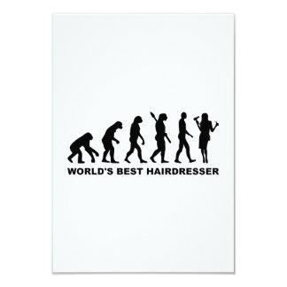 Der beste Friseur der Evolutions-Welt Personalisierte Ankündigungskarten