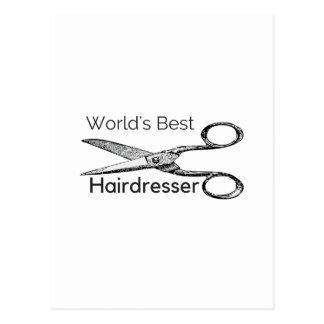 Der beste Friseur der Welt Postkarten