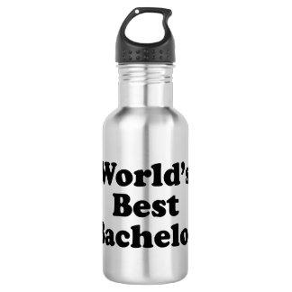 Der beste Junggeselle der Welt Edelstahlflasche