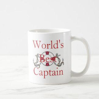 Der beste Kapitän der Welt Kaffeetasse