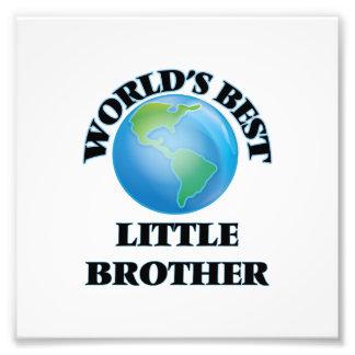 Der beste kleine Bruder der Welt Kunst Foto