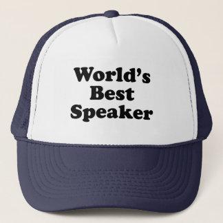 Der beste Lautsprecher der Welt Truckerkappe