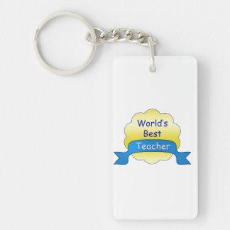 Der beste Lehrer der Welt Schlüsselanhänger