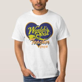 Der beste Lehrer der Welt T-Shirt