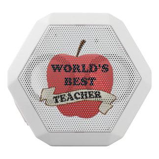 Der beste Lehrer der Welt Weiße Bluetooth Lautsprecher