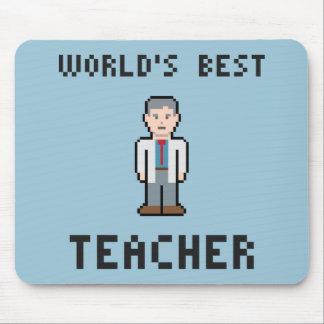 Der beste Lehrer Mousepad der Welt