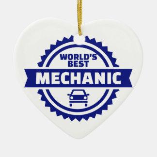 Der beste Mechaniker der Welt Keramik Ornament