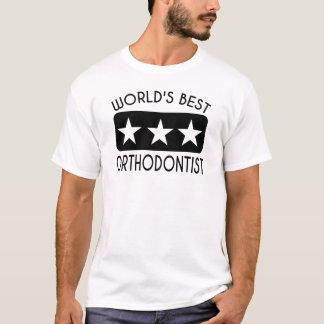 Der beste Orthodontist der Welt T-Shirt