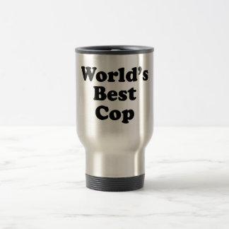 Der beste Polizist der Welt Edelstahl Thermotasse
