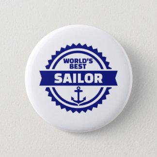 Der beste Seemann der Welt Runder Button 5,1 Cm