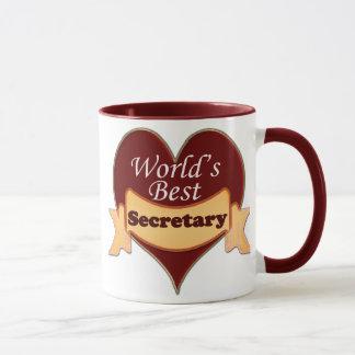 Der beste Sekretär der Welt Tasse