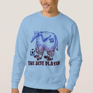 der beste Spielerelefant-Cartoon Sweatshirt