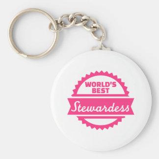 Der beste Stewardess der Welt Schlüsselanhänger