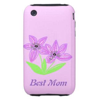 Der beste Tag der Mamma-Mutter Tough iPhone 3 Hüllen