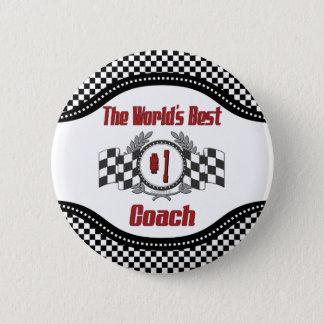 Der beste Trainer der Welt - Nr. eine Runder Button 5,1 Cm