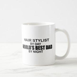 Der beste Vati der Welt - Haar-Stylist Kaffeetasse