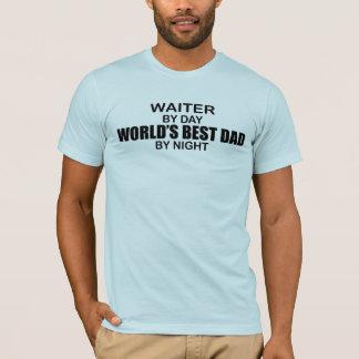Der beste Vati der Welt - Kellner T-Shirt