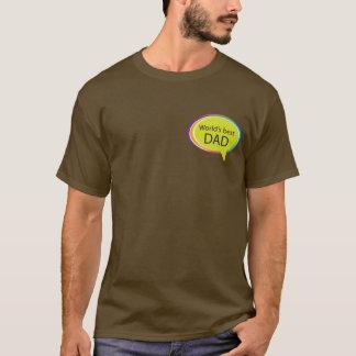 Der beste VATI der Welt - schwarzes Shirt