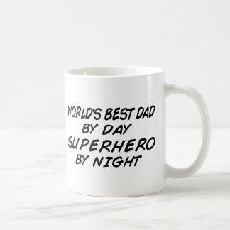 Der beste Vati der Welt - Superheld Kaffeetasse