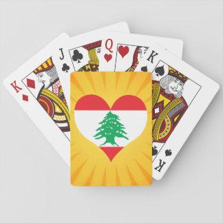 Der beste verkaufende niedliche Libanon Spielkarten