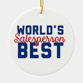 Der beste Verkäufer der Welt Keramik Ornament
