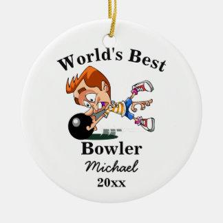 Der beste Werfer der Welt Keramik Ornament