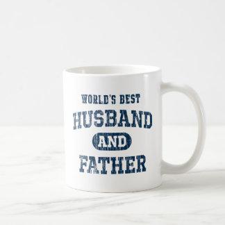Der bester Ehemann der Welt und Vater-Schürze Kaffeetasse