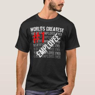 Der bestste Angestellte #1 der beste T-Shirt