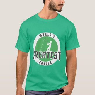 DER BESTSTE ANGLER DER WELT T-Shirt